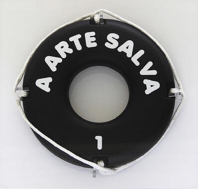 """Eduardo Srur, '"""" A Arte Salva. Versão do Rio Pinheiros.', 2017"""