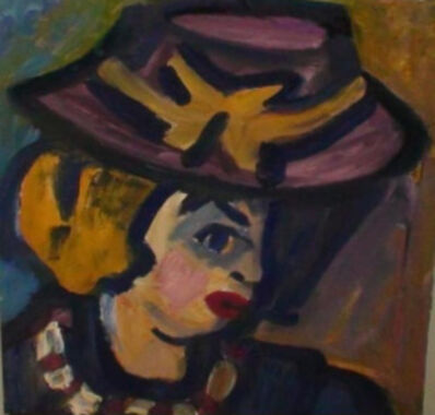 Miklós Németh, 'Lady in Hat', 1966.