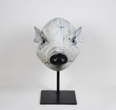 Quentin Garel, 'Mask of Pig', 2017