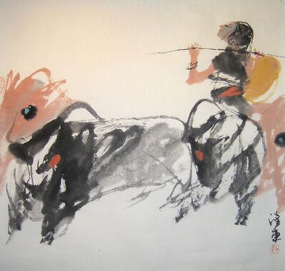 Quan Handong, '#9 Mountain Oxen Series ', 2007