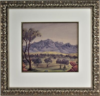 "Adolf Inkamala, '""Central Australian Landscape""', ca. 1940"