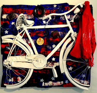 Erika Calesini, 'Bike I love Usa', 2017