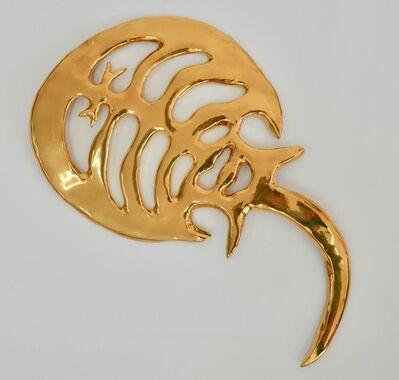 Jennifer Clifford Danner, 'Golden Horseshoe Crab #4', 2019