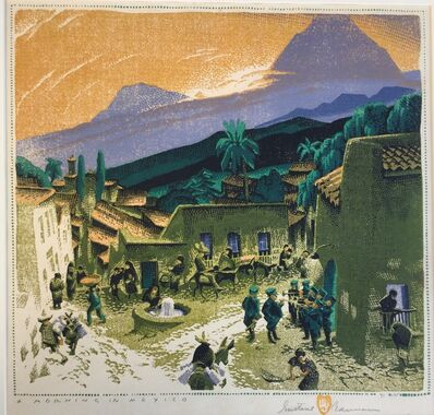 Gustave Baumann, 'Morning in Mexico', 1934