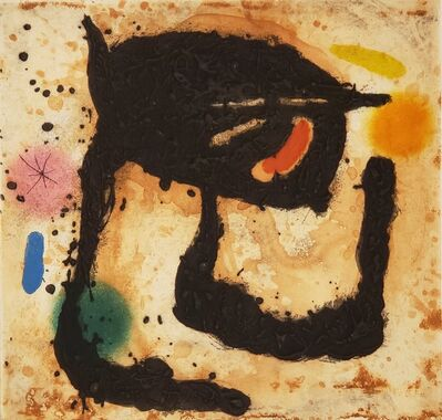 Joan Miró, 'Le Dandy ', 1969