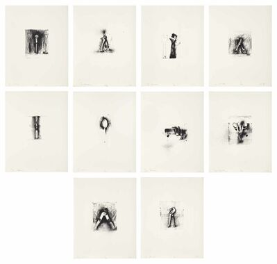 Jim Dine, 'Ten Winter Tools', 1973