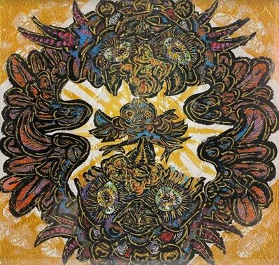 Miwa Komatsu, 'Zodiac divine SPIRIT: Year of the Rooster', 2018