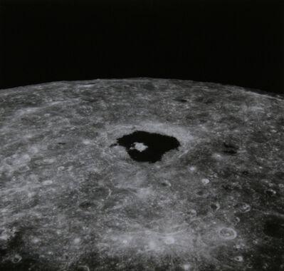 NASA, 'Apollo 8 Moon View (Tsiolkovsky crater)', 1968