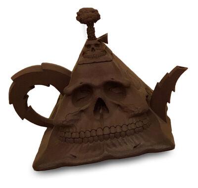Richard Notkin, 'Nucleur Skull Tea Pot '