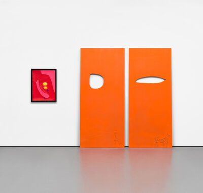 Aaron Curry, 'Two works: (i) Two Sheets Thick; (ii) Power Of Off', 2010