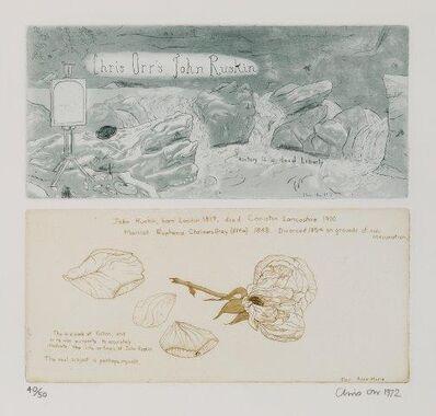 Chris Orr, 'Chris Orr's John Ruskin', 1972