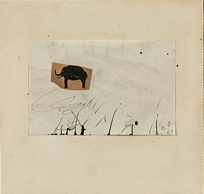 Claes Oldenburg, 'Untitled', 1960