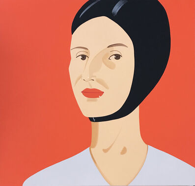 Alex Katz, 'Bathing Cap (Ada)', 2012