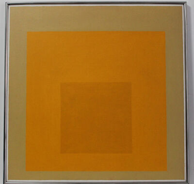 Josef Albers, 'Homage to the Square', 1958