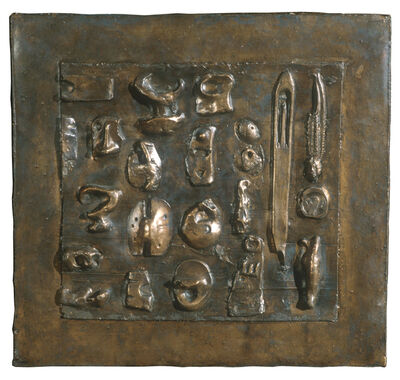 Henry Moore, 'Wall Relief No. 10 (1955/56)', 1983