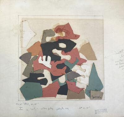 Robert Goodnough, 'Red Blue ', 1969
