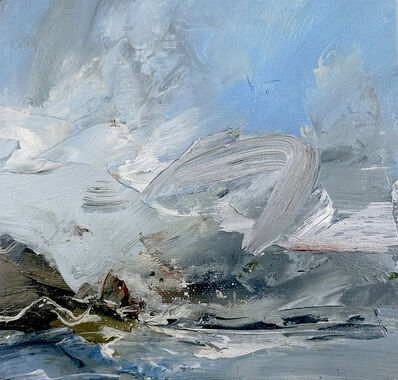 Janette Kerr, 'Weather study – wind over Rooi Ness, Dale of Walls ', 2018