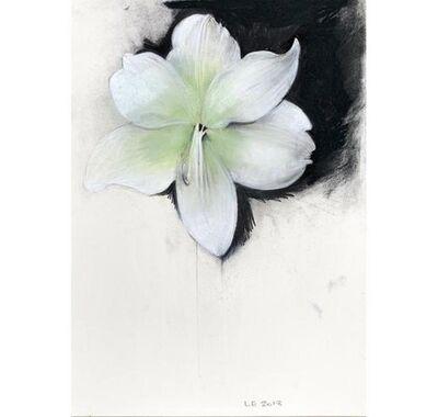 Linda Etcoff, 'White Amaryllis'