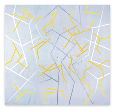 Gudrun Mertes-Frady, 'Dancing Yellow', 2010