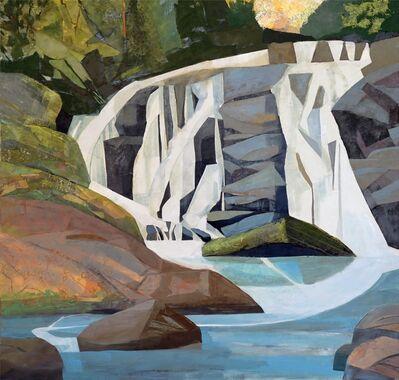 Mariella Bisson, 'Arc Reflected, East Fork Falls NC', 2019