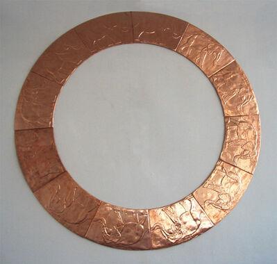 Veljko Zejak, 'Cylindrical seal - bronze', 2005