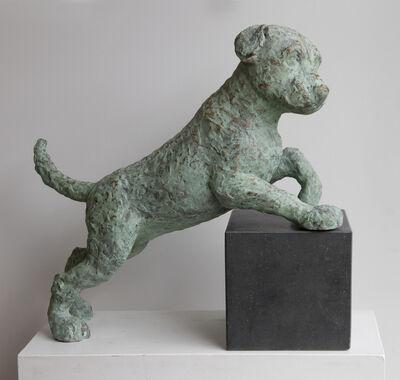 Babette Degraeve, 'Hond poot op blok (Dog paw on block)', 2019