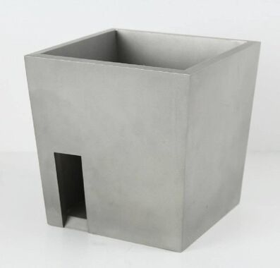 Peter Lodato, 'STEEL ROOM California Minimalist Abstract Sculpture', 1980-1989