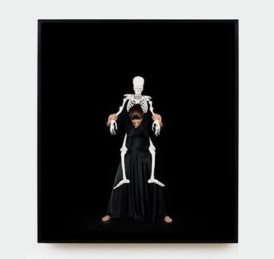 Marina Abramović, 'Standing with Skeleton', 2016