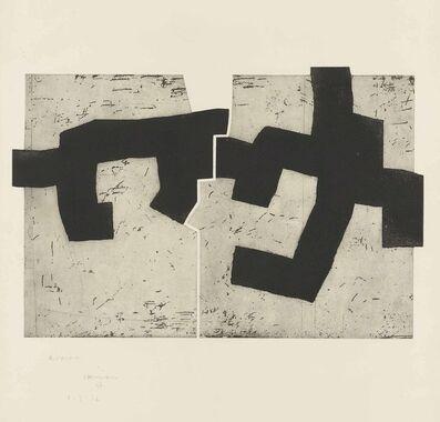 Eduardo Chillida, 'Aldikatu IV', 1972