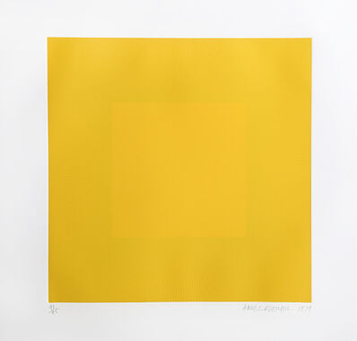 Richard Anuszkiewicz, 'Yellow with Yellow from the Spring Suite', 1979
