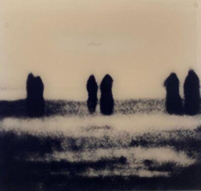 Michal Rovner, 'Overhang 5 figures', around 2000