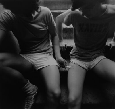 Arthur Tress, 'Teenage Runners, New York City', 1975