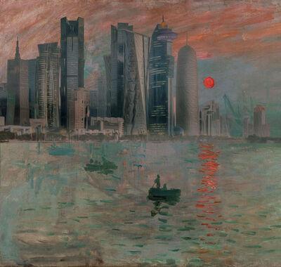 Nasser Al-Kubaisi, 'Sunrise in Doha ', 2019