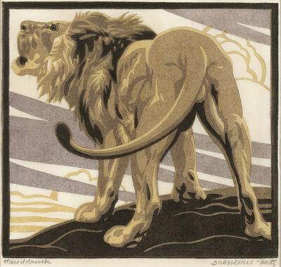 Norbertine Bresslern-Roth, 'Lion', 1928