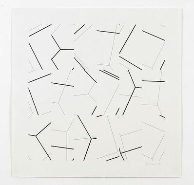 Manfred Mohr, 'P-199/H13', 1977