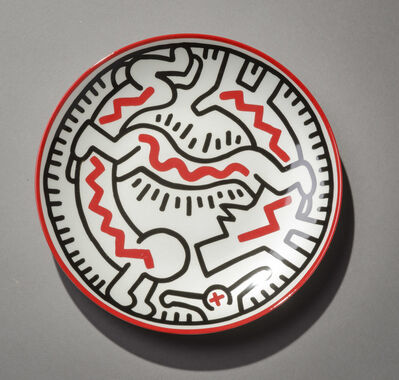 Keith Haring, 'Plate 7'