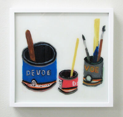 Rose Eken, 'Devoe Paint Cans With Brushes', 2016