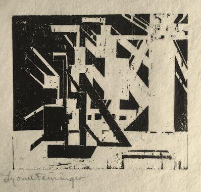 Lyonel Feininger, 'Ships and Sun', ca. 1920