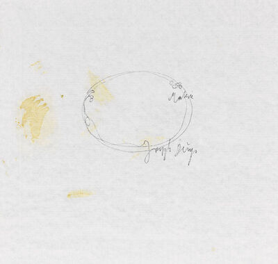 Joseph Beuys, 'Abstractions 2', 1958