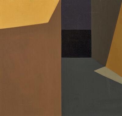 Helen Lundeberg, 'Dark Corridor', 1959