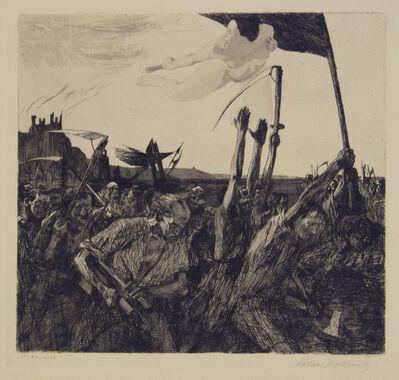 Käthe Kollwitz, 'Revolt', 1899