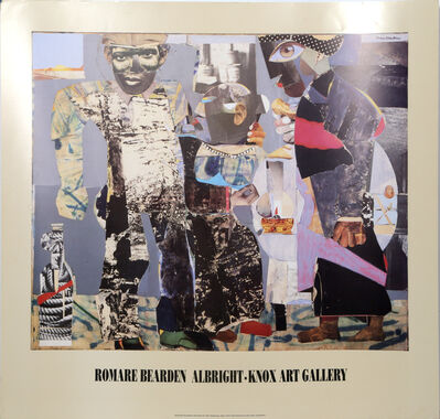 Romare Bearden, 'Albright Knox Gallery: Return of the Prodigal Son ', 1990