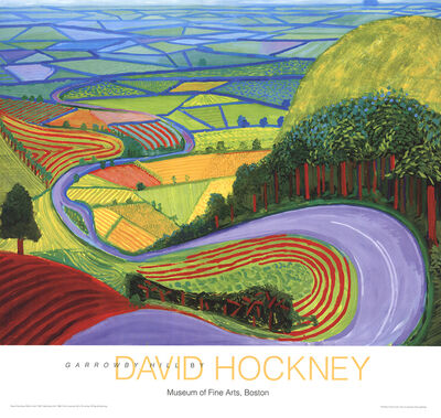 David Hockney, 'Garrowby Hill', 2010-2016