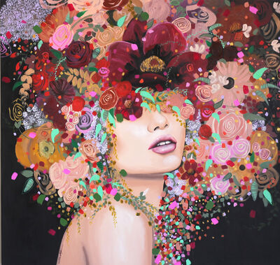 Sally K, 'Midnight Blossom', 2018