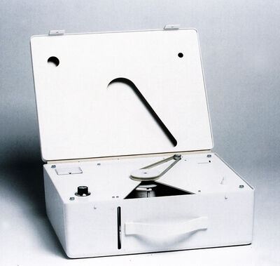 Steven Pippin, 'Toilet Paper Stealing Machine', 2000