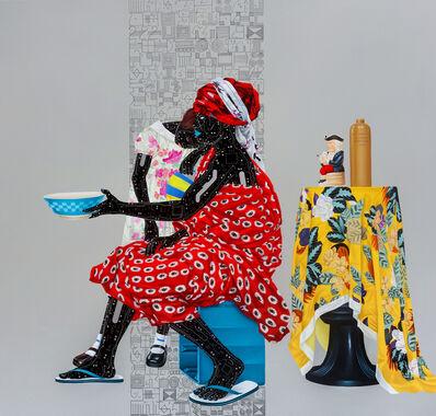 Eddy Kamuanga Ilunga, 'Fragile 4', 2018