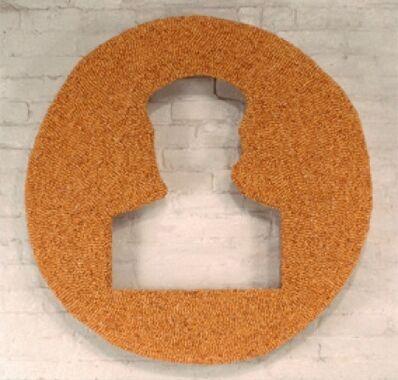 Zhang Hongtu, 'Material Mao Series - Corn Mao', 1992