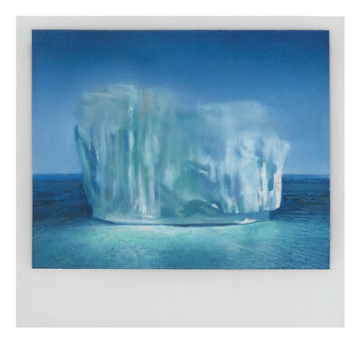 Martí Cormand, 'Icescape in blue', 2019