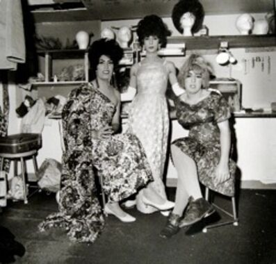 Jeffrey Silverthorne, 'Dressing room, La Villa Blanc, Albuquerque', 1971