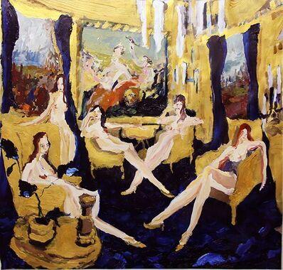 Bradley Wood, 'Gold Room', 2015